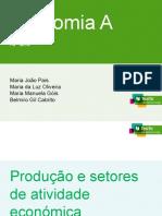 4- Produção e Setores de Atividade Económica