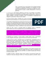 1 - Fichamento - SANTOS, Sandra Regina Toledo; PIMENTEL, Caroline. A Adesão ao Programa Nacional de Apoio à Gestão Administrativa e Fiscal nos Mu