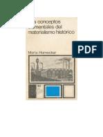 04. Los Conceptos elemenmtales del Materialismo historico (Martha Harnecker)