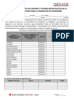 Formato a - Acta Para Conformacion de La Comision Electoral Municipal Digital (1)