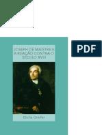 Joseph de Maistre tradução