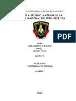 Monografia Codigo Penal 2020