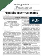 Jurisprudencia procesos constitucionales