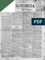 A Província, ano III, nº 237 Recife, 6 de março de 1874. A província, p. 1.