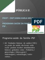 Aula Programa Sapude Da Família --Psf ( Atualizado ) (2) -