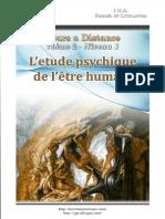 02 Etude Psychyque de l Etre Humain