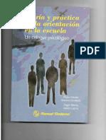 Teoría y Práctica de La Orientación en La Escuela