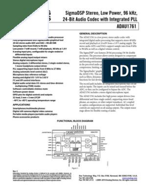 Sigmastudio I2s Example