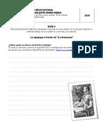 gua-4.-octavo-bsico-lengua-y-literatura la epopeya a traves de la Araucana