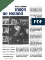 (french) Semiologie Littérature Linguistique Roland Barthes