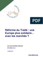 Réforme du Traité