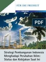 Kertas Kebijakaan Strategi pembangunan Indonesia dalam menghadapi perubahan iklim
