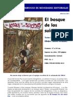 Novedad - El Bosque de Los Suicidas