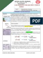 Taller 6-Ciclo5 - El Oxigeno y Los No Metales