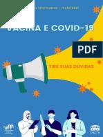 """Cartilha """"Vacina e Covid-19"""