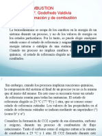 ENTALPÍA DE FORMACIÓN Y COMBUSTIÓN