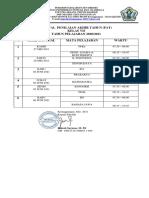Jadwal Pat 7 Smpn 1 Ktg 2021