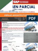 examen de dibujo arquitectonico