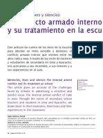 Memorias, temores y silencios. El conflicto armado interno y su tratamiento en la escuela - Tamia Portugal Teillier & Francesca Uccelli Labarthe