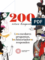 200 años después. Los escolares preguntan, los historiadores responden - Proyecto Especial Bicentenario de la Independencia del Perú