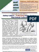 OSHE Bulletin JANUARY 2011