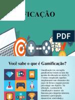 Apresentação Gamificação slide.