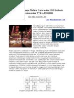 Pengendali Lampu Melalui Antarmuka USB Berbasis Mikrokontroler AVR AT90S2313