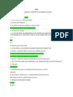 G4 TEST DEL RESUMEN DE LA PLANIFICACION DE UN PROYECTO TECNOLOGICO