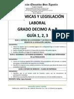 Economicas y Legislacion 10