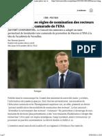 Macron Change Les Règles de Nomination Des Recteurs Pour Placer Une Camarade de l'ENA