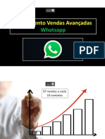 Treinamento de Vendas Avançadas pelo Whatsapp