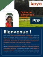 Kaya Quick Start Guide French