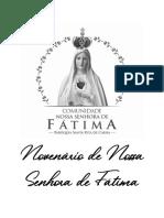 NOVENÁRIO DE NOSSA SENHORA DE FÁTIMA (atualizado)