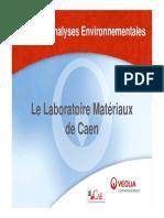 2007 09 Présentation laboratoire matériaux