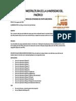 Informe De Actividades De Campo PMI