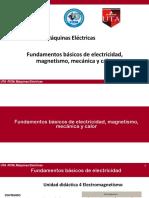 Semana 3.1 Máquinas Eléctricas