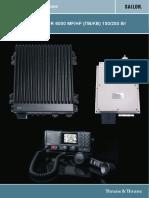 SAILOR 6000 MF-HF 150-250W Installation Manual 98-130890-A_RU