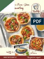 TF Rezeptheft Pizza Sauerteig