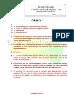 1. Texto Narrativo - Teste Diagnóstico (1) - Soluções