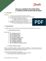 EA - FC202 Systeme Autonome avec 2 variateurs VLT AQUA Drive