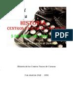 Historia de Los Centros Vascos de Caracas 5 de Abril de 1942  -  1950