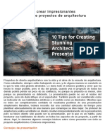 10 consejos para crear impresionantes presentaciones de proyectos de arquitectura
