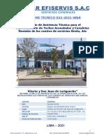 Informe Técnico Iiee - Sede Sjl - Sedapal