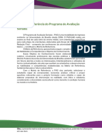 Matriz de Referência PAS 3 - 2020