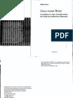 Robert Kurz - Geld ohne Wert_ Grundrisse zu einer Transformation der Kritik der politischen Ökonomie (2012, Horlemann)