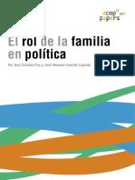 El Rol de La Familia en Política