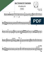 Himno Nacional de Guatemala - (Contrabajo)