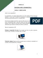 NOCIONES BÁSICAS DE LA INFORMÁTICA - teodoro