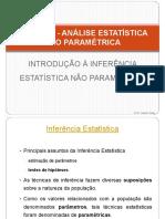 Estatística Não Paramétrica - Introdução