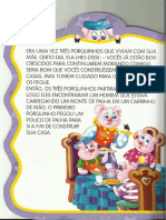 História - Três Porquinhos
